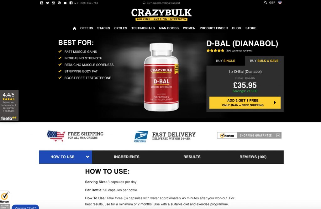 crazy bulk official website